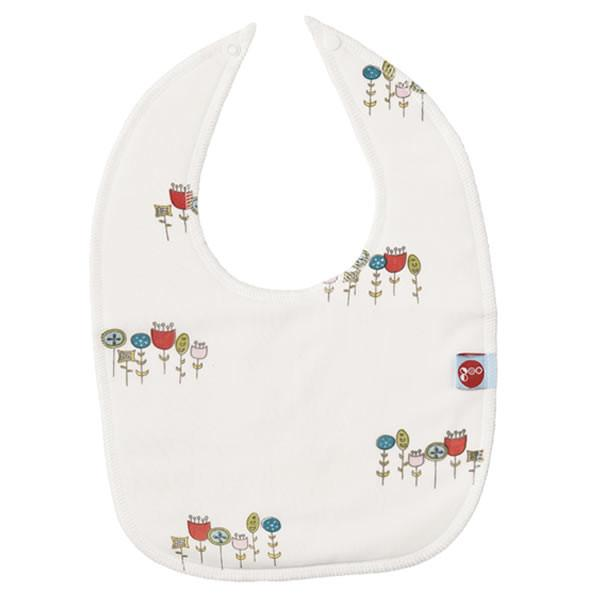Goo Organic Cotton Baby Bib - Wildflowers