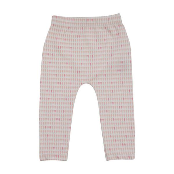Goo Organic Cotton Leggings - Harlequin Pink - Ecosprout - New Zealand