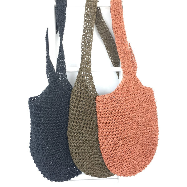 Crochet Twine Carry Bag
