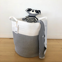 Nursery Hamper : White/Grey Ecosprout