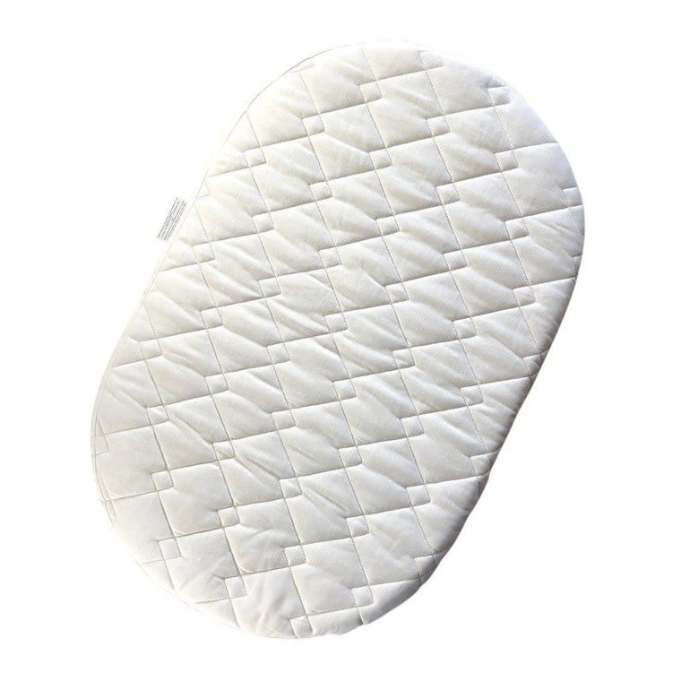 Rattan Bassinet Mattress : Wool Latex Blend