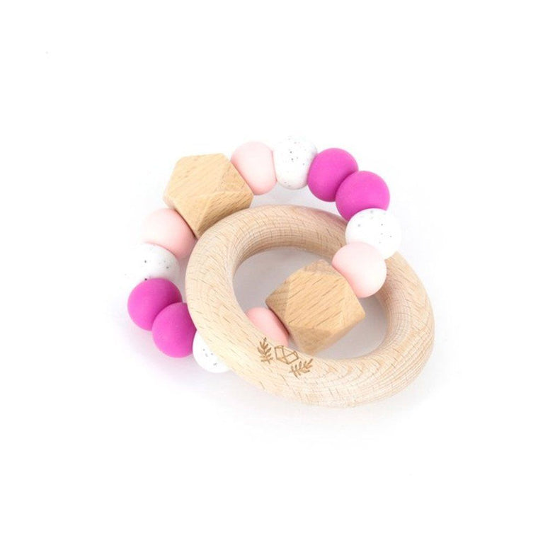 Hexx Teething Rattle : Berry Bliss