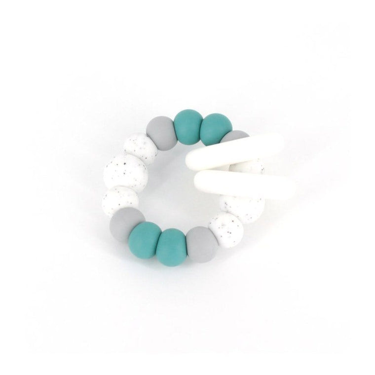 TRIO Teether : Duck Egg Blue