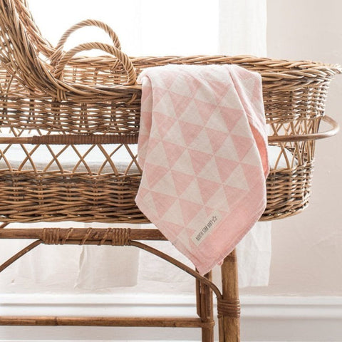 Cotton Blanket : Pink Hills