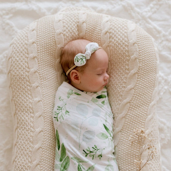Bamboo Jersey Wrap : Evergreen Wraps Luna's Treasures