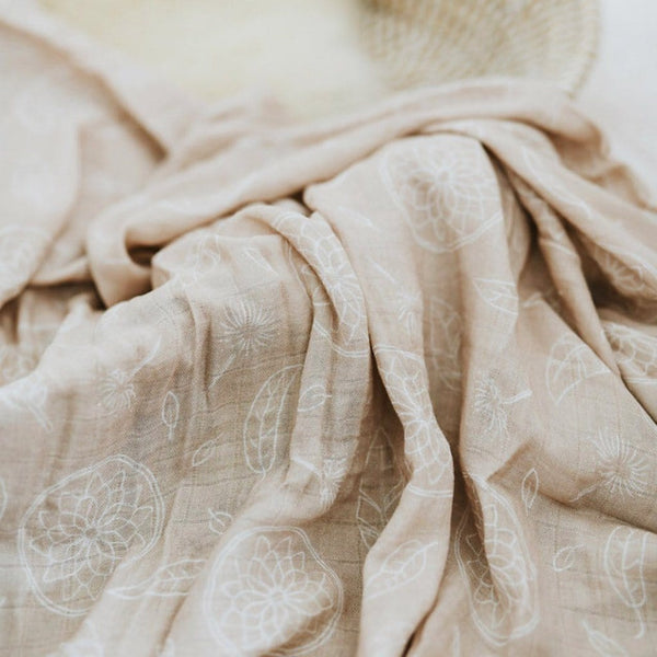 Muslin Bamboo Cotton Wrap : Boho Sand Wraps Luna's Treasures