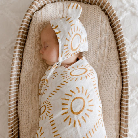 Muslin Bamboo Cotton Wrap : Soleil Wraps Luna's Treasures