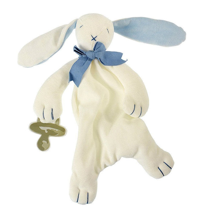 Baby Soft Toy Comforter (Organic) – Oscar The Bunny (Unboxed)