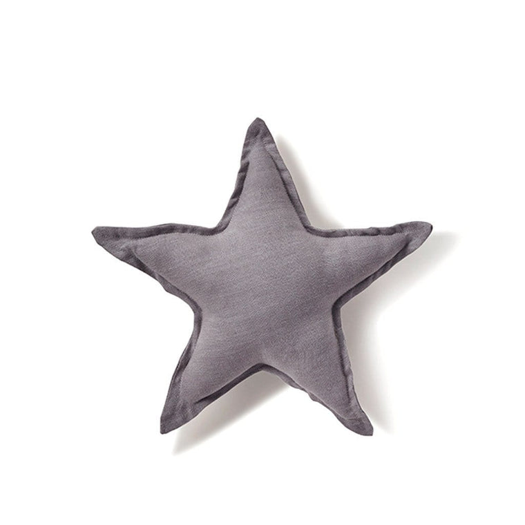 Star Cushion - Dove Grey 25cm