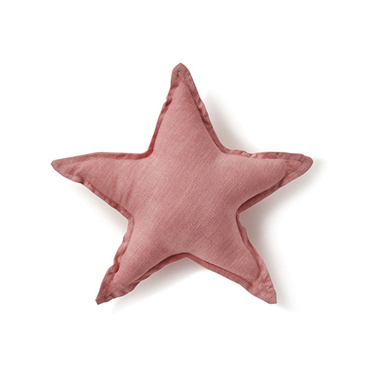 Star Cushion - Blush Pink 25cm