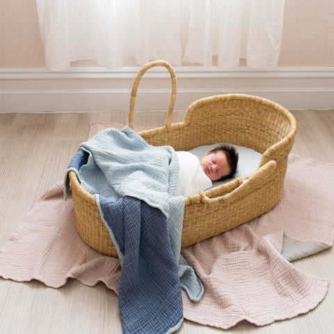 Bebek Muslin Blanket : Blue Blanket North Star Baby