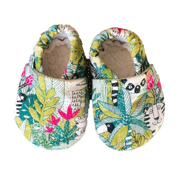 Baby Booties - Jungle Beasts