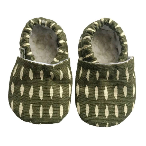 Baby Booties - Olive Grove Baby Booties Pretty Kiwi