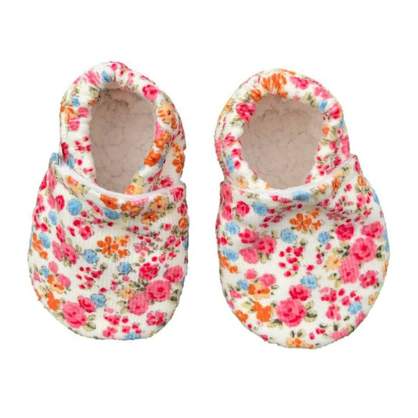 Baby Booties - Tiny Flower