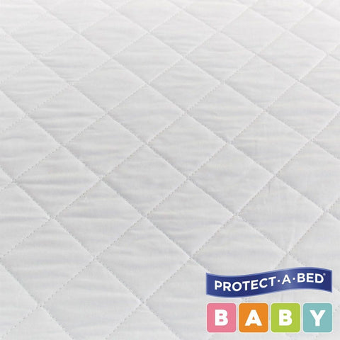 Bassinet Cotton Quilted Fitted : Rattan Bassinets