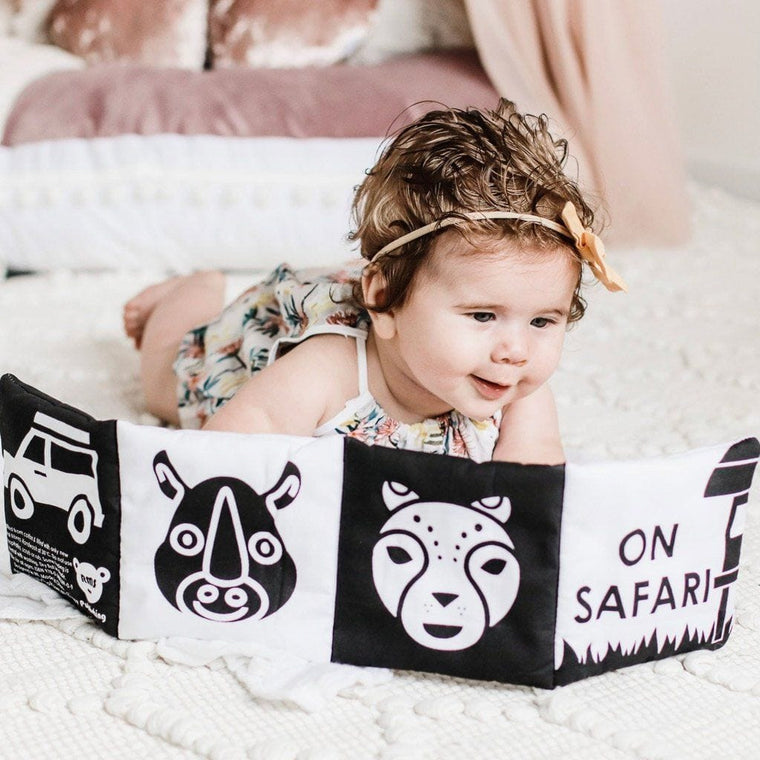 Baby's First Soft Book : On Safari