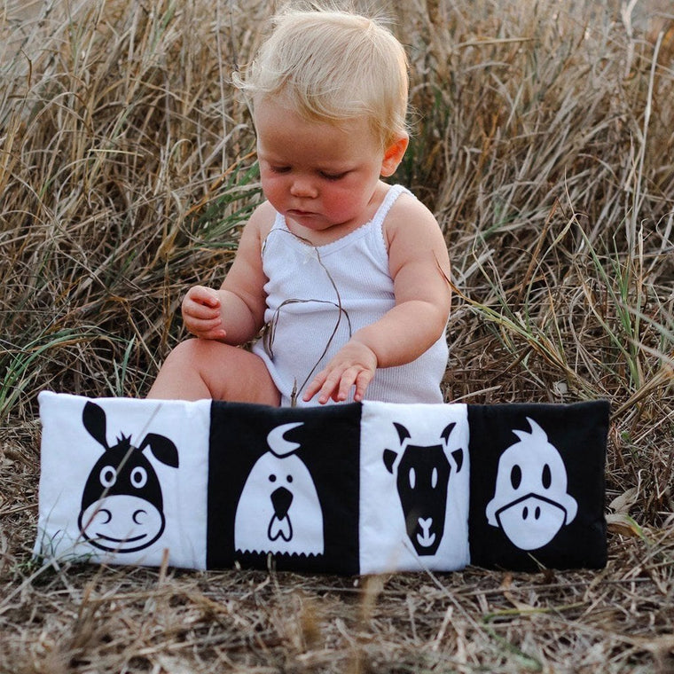 Baby's First Soft Book : On the Farm