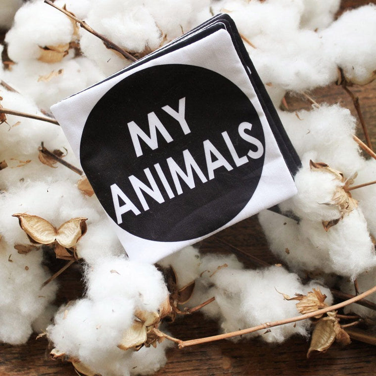 Cloth Book: My Animals