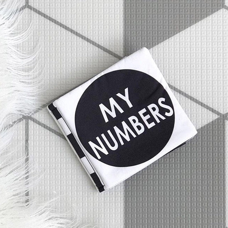 Cloth Book: My Numbers