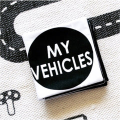 Cloth Book: My Vehicles Toys RMS Publishing
