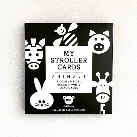 My Stroller Cards: Animals Toys RMS Publishing
