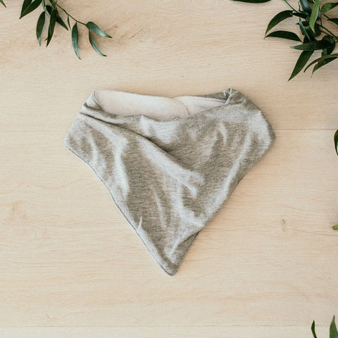 Dribble Bib : Grey Marle
