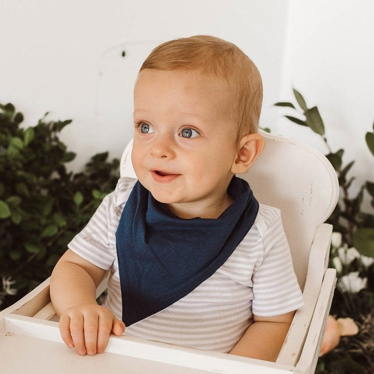 Dribble Bib : Navy