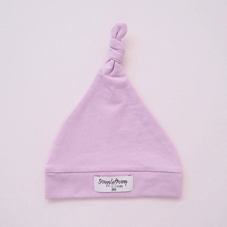 Knotted Beanie : Lilac