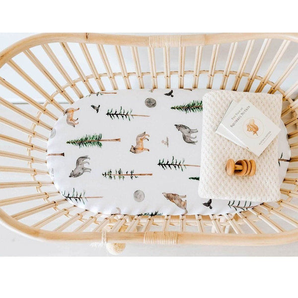Jersey Fitted Bassinet Sheet : Alpha Sheet Snuggle Hunny Kids