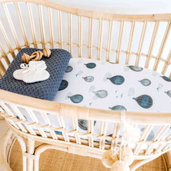Jersey Fitted Bassinet Sheet : Cloud Chaser Sheet Snuggle Hunny Kids