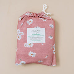 Jersey Fitted Change Mat / Pad Cover : Daisy Sheet Snuggle Hunny Kids