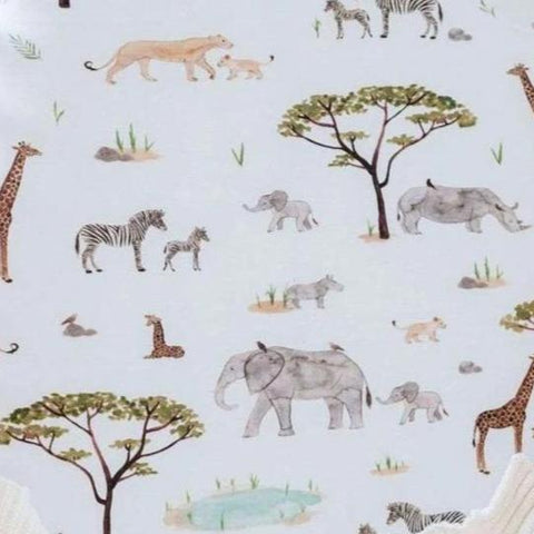 Jersey Fitted Bassinet Sheet : Safari Sheet Snuggle Hunny Kids