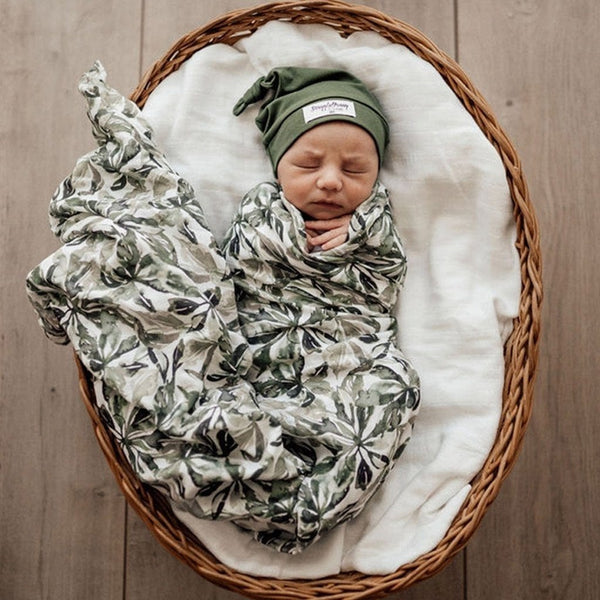 Muslin Wrap : Evergreen Wraps Snuggle Hunny Kids