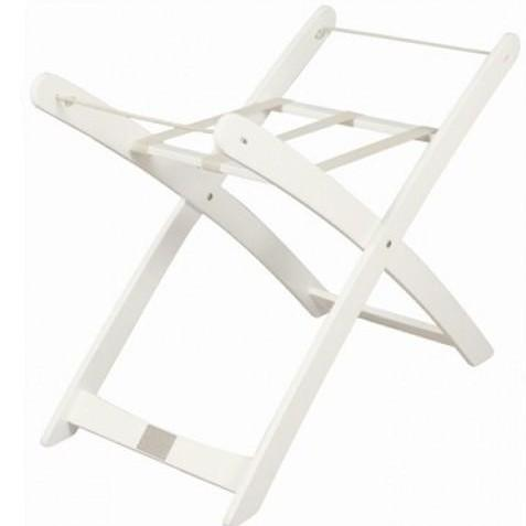 Stand for Moses Basket : White