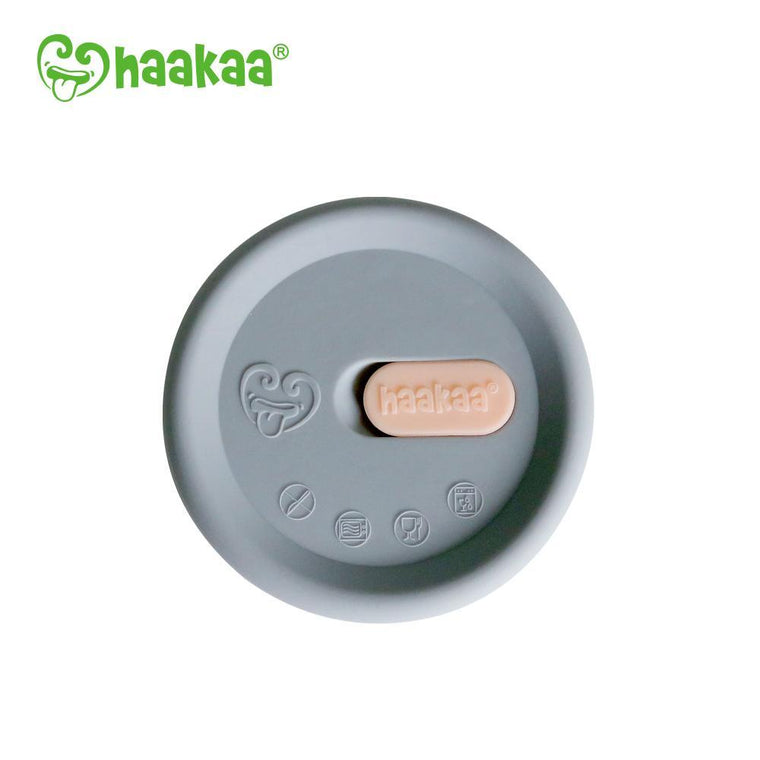 Haakaa Breast Pump Silicone Cap - Grey
