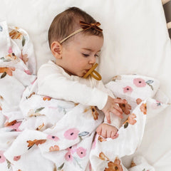 Baby Velvet Bow Petite : Toffee Baby Accessory Snuggle Hunny Kids