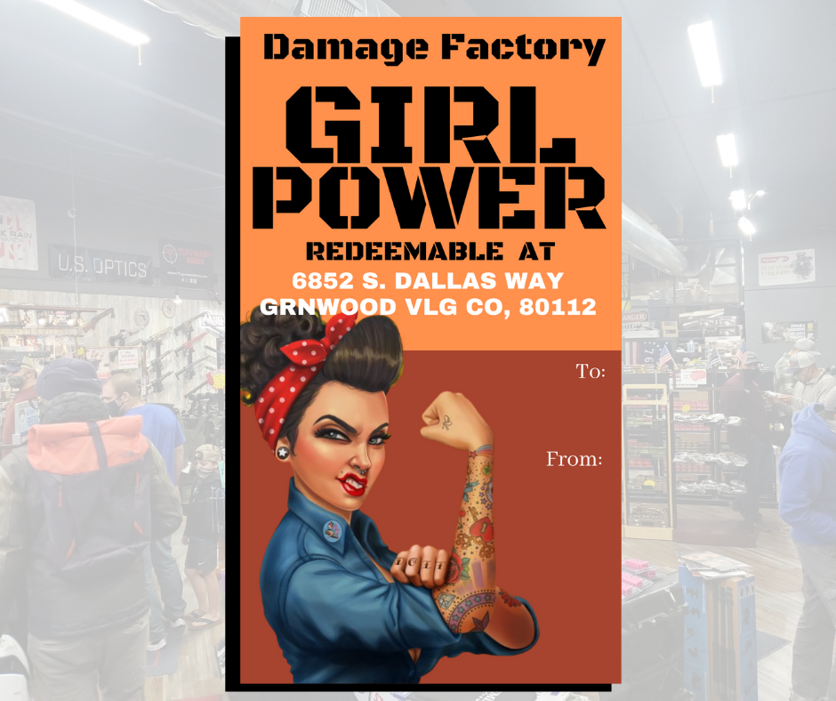 Damage Factory Gift Cards: Girl Power