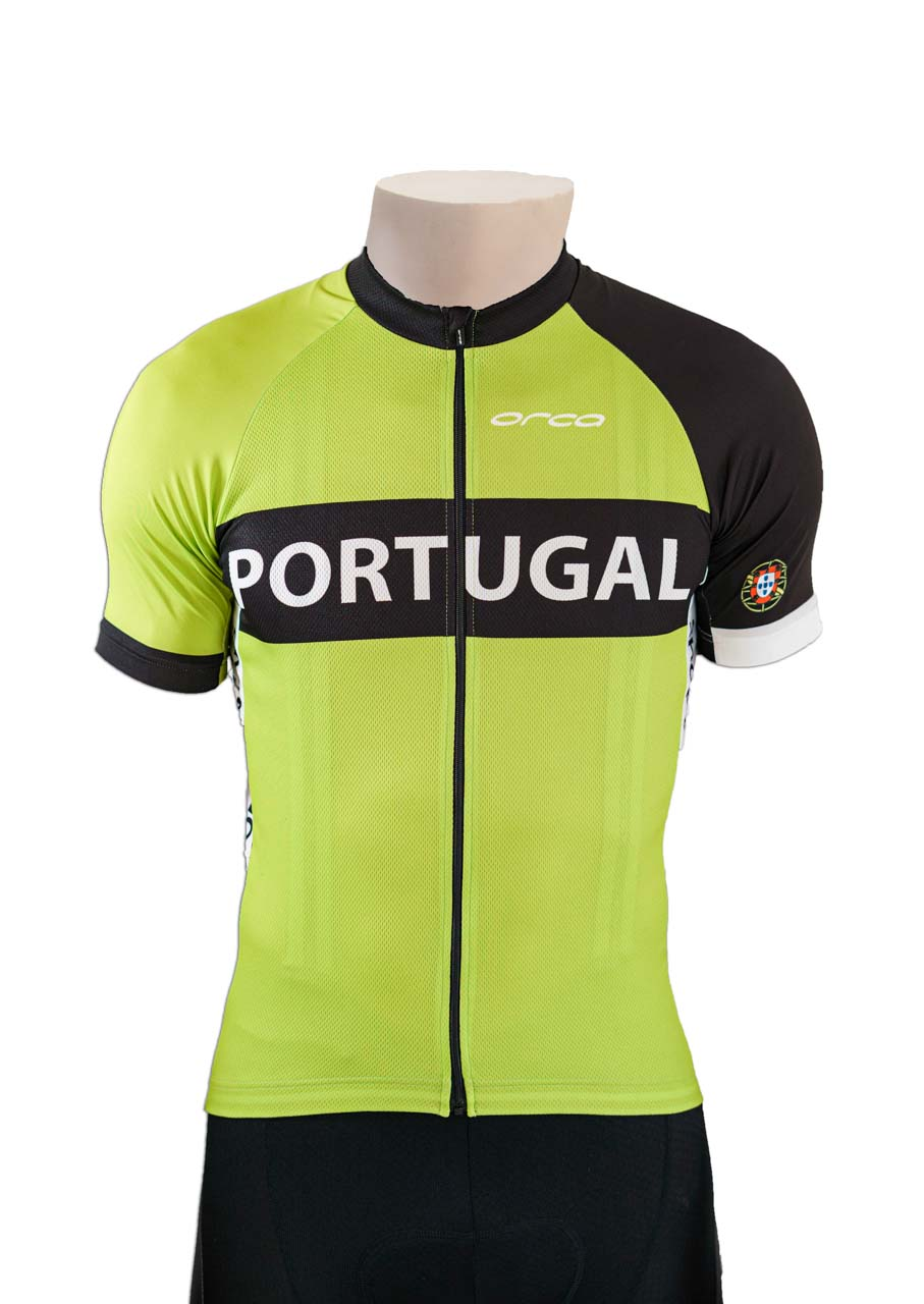 Cycling Jersey Portugal in Green