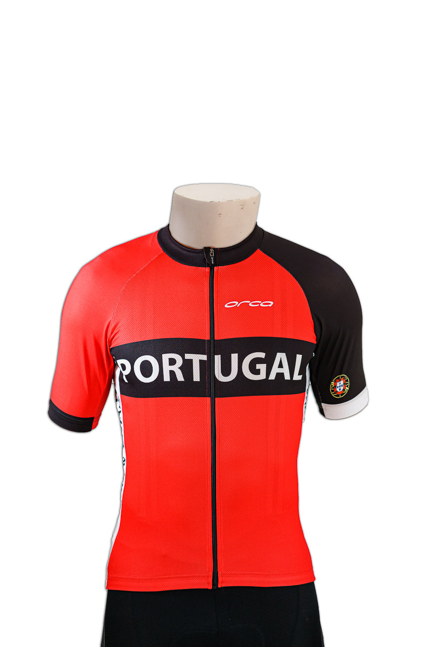 Cycling Jersey Portugal in Red