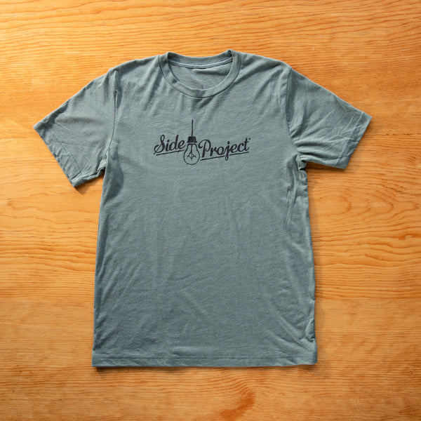 Side Project Logo T-Shirt - Military Green