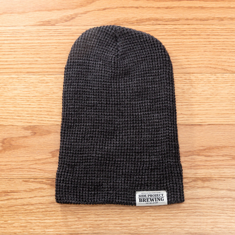 Side Project Waffle Knit Beanie