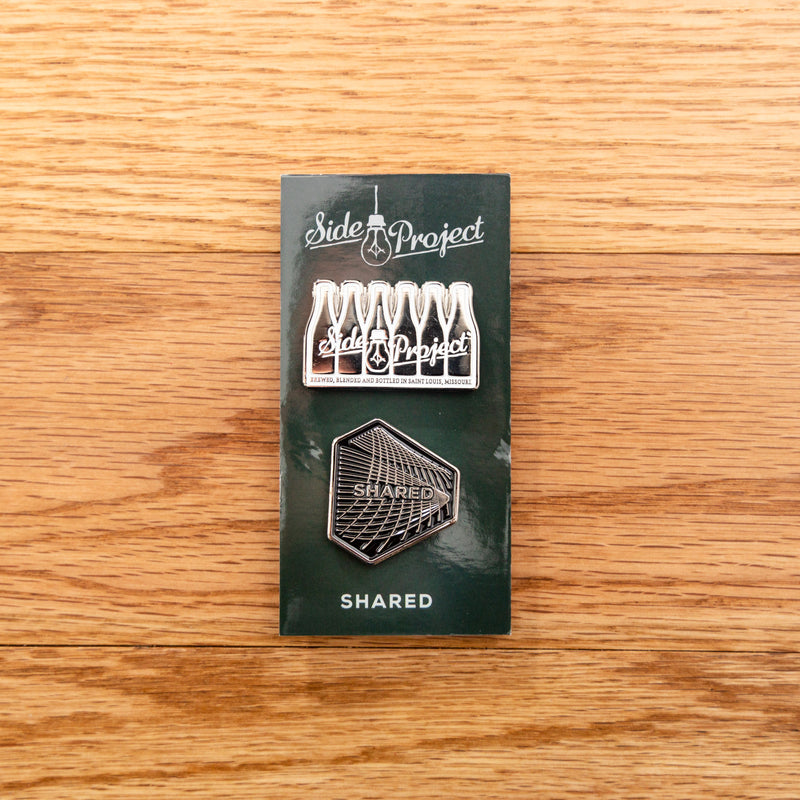 Side Project & Shared 2-pack Lapel Pins