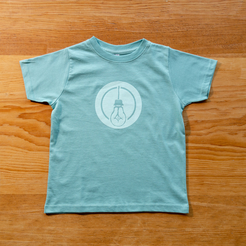Side Project Circle Lightbulb Toddler T-Shirt