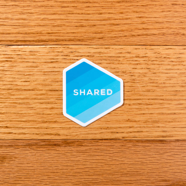 Shared Logo Sticker