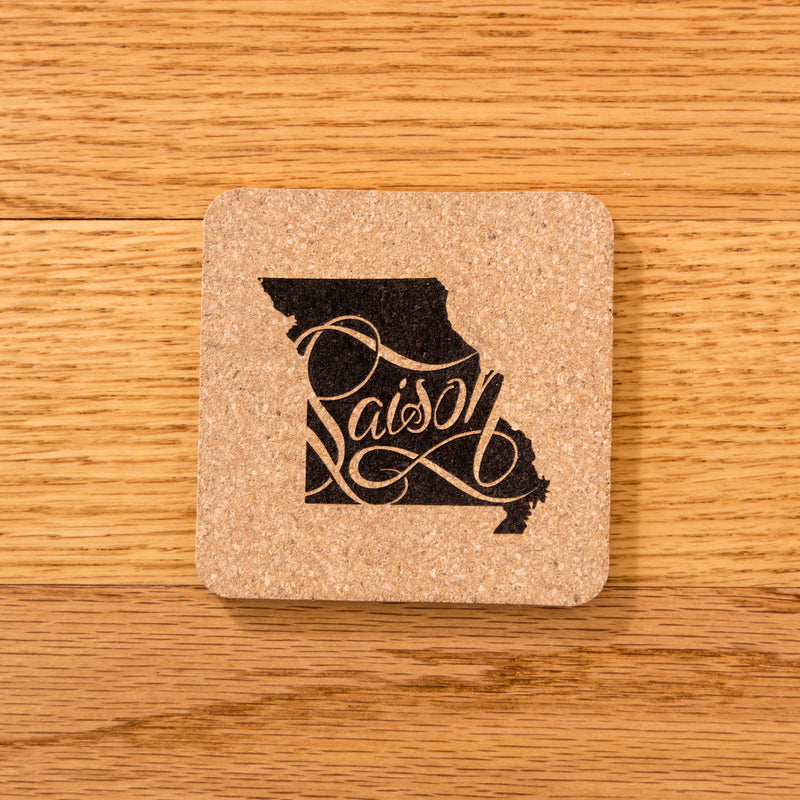 Side Project & Shared Cork Coasters