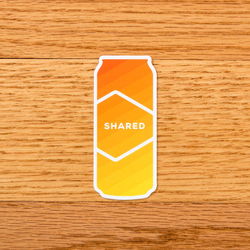 Shared Gradient Can Sticker