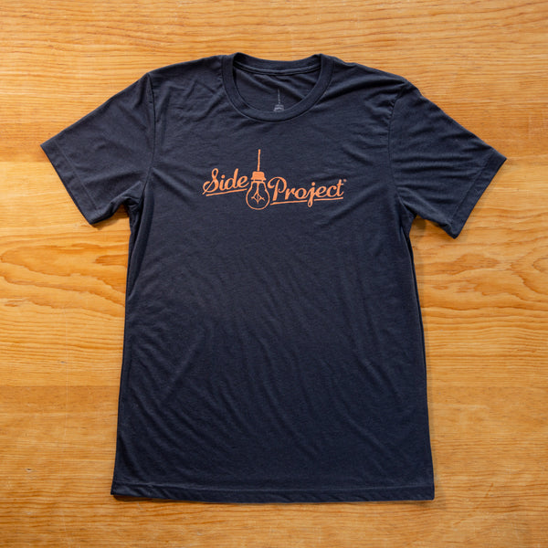 Side Project Logo T-Shirt - Dark Grey