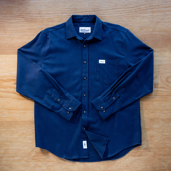 Side Project Long Sleeve Button Up