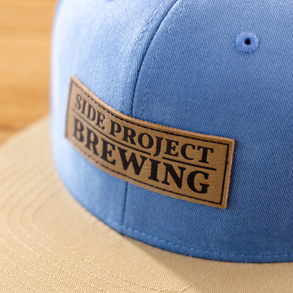 Side Project Leather Patch Hat