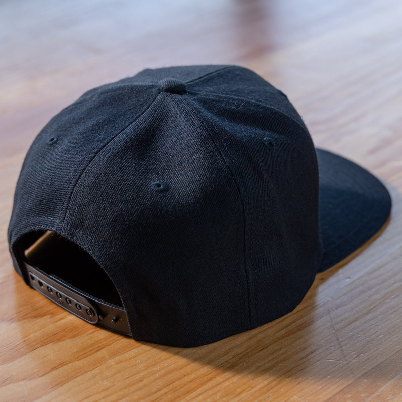 Side Project Black Classic Patch Hat